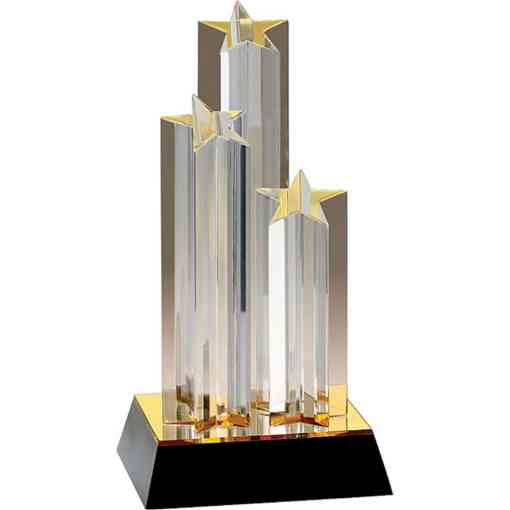 Triple Star Acrylic Award