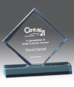 Diamond Jewel Bevel Award