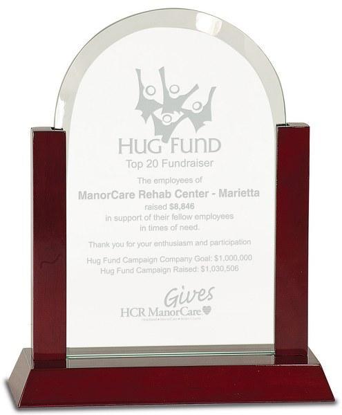 Domed Glass Award