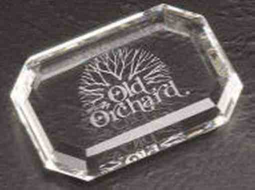 Crystal Paperweight Award
