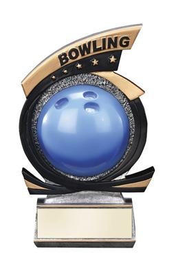 Gold Star Bowling Trophy