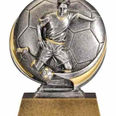 Male Motion Xtreme Soccer Trophy