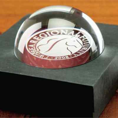 Round Paperweight Award