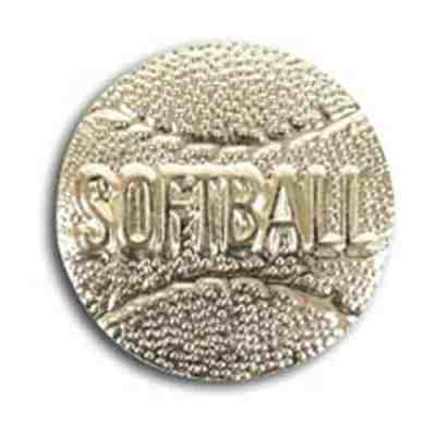 Softball Lapel Pin