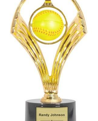 Swinging Softball Trophy