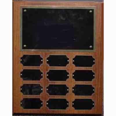 12-plate perpetual plaque