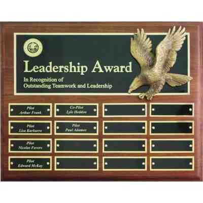 16-plate Eagle Perpetual Plaque
