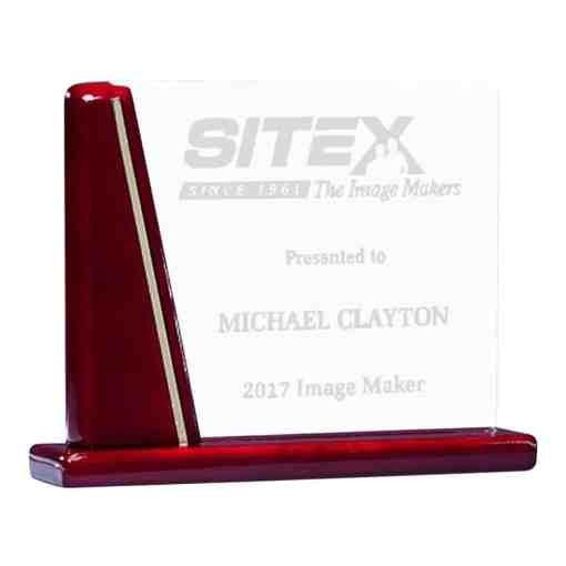 Rosewood Glass Award G2894