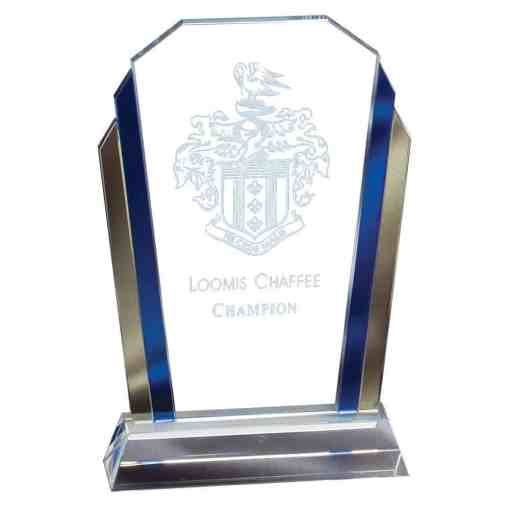 Gold and Blue Glass Award