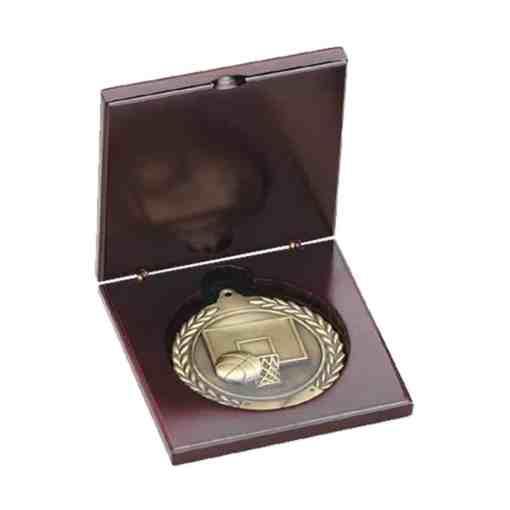 Wooden Medal Display Case