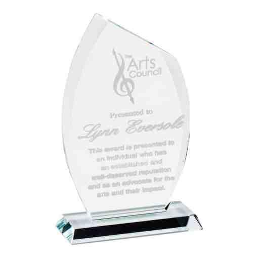Modern Flame Glass Award CR321