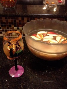 Cider punch--Not just for Halloween anymore.