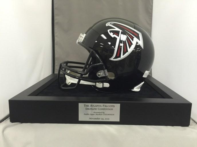 Atlanta Falcons Helmet Drumline Competition