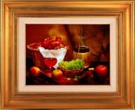 custom framed painting