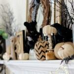 How To Decorate Your Halloween Mantel