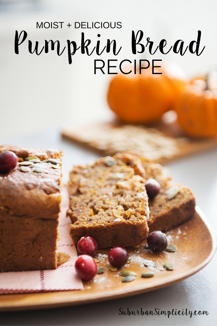 All Time Favorite Pumpkin Recipes Pumpkin Bread Recipe