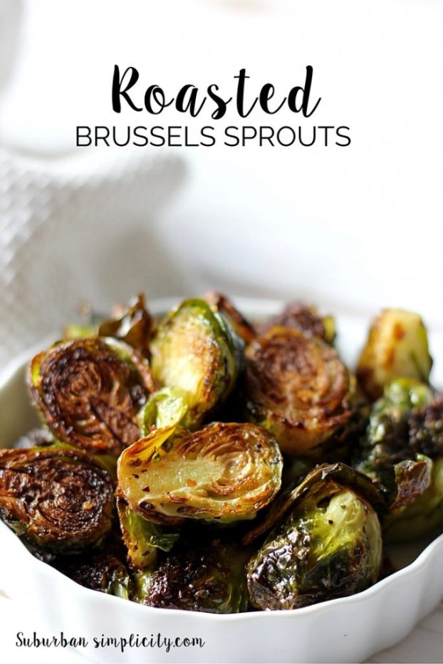 The BEST way to eat Brussels Spouts is to roast them! This Roasted Brussels Sprouts Recipe is so simple, yet so delicious. Even kids like them!
