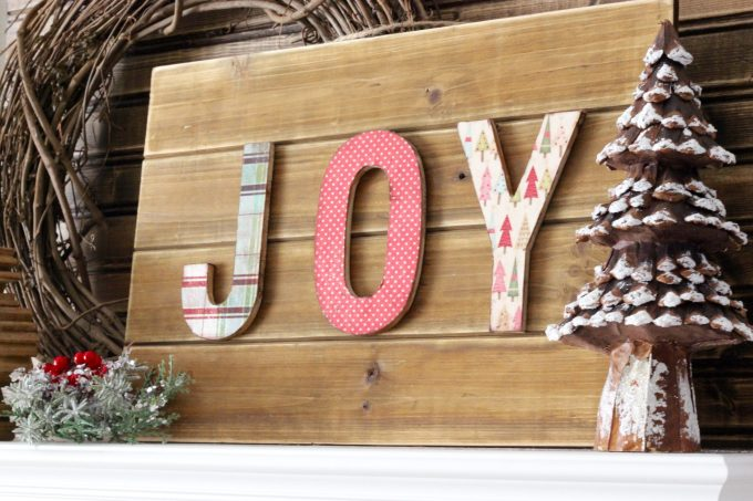 How to Make a Dimensional Holiday Sign