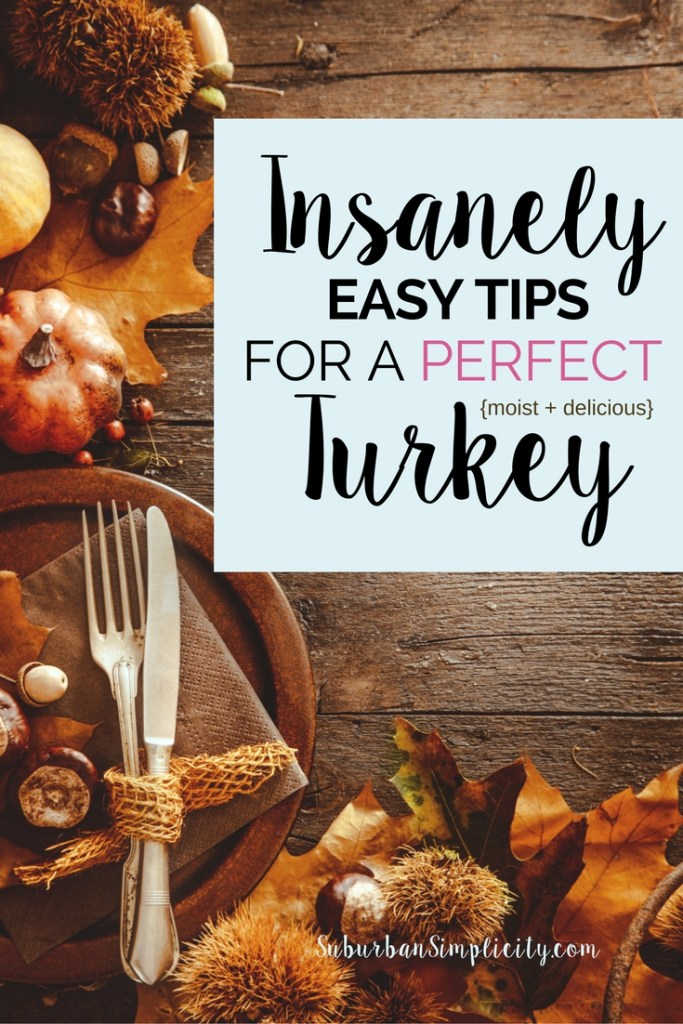 Follow these 7 simple tips and you will have a moist and delicious turkey to serve on Thanksgiving that your family and friends will love.