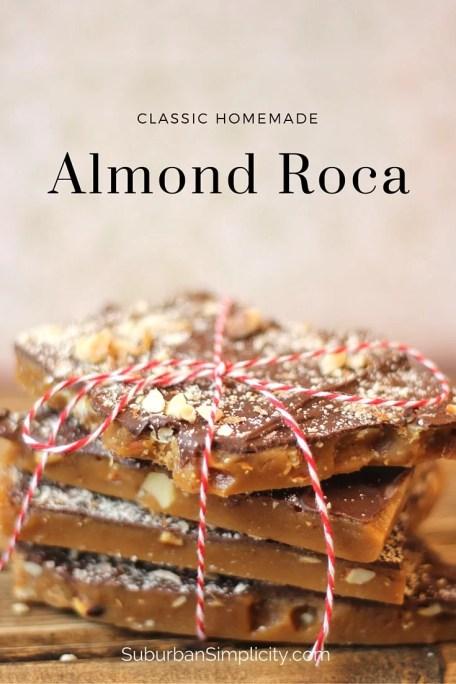 Homemade Almond Roca #candy