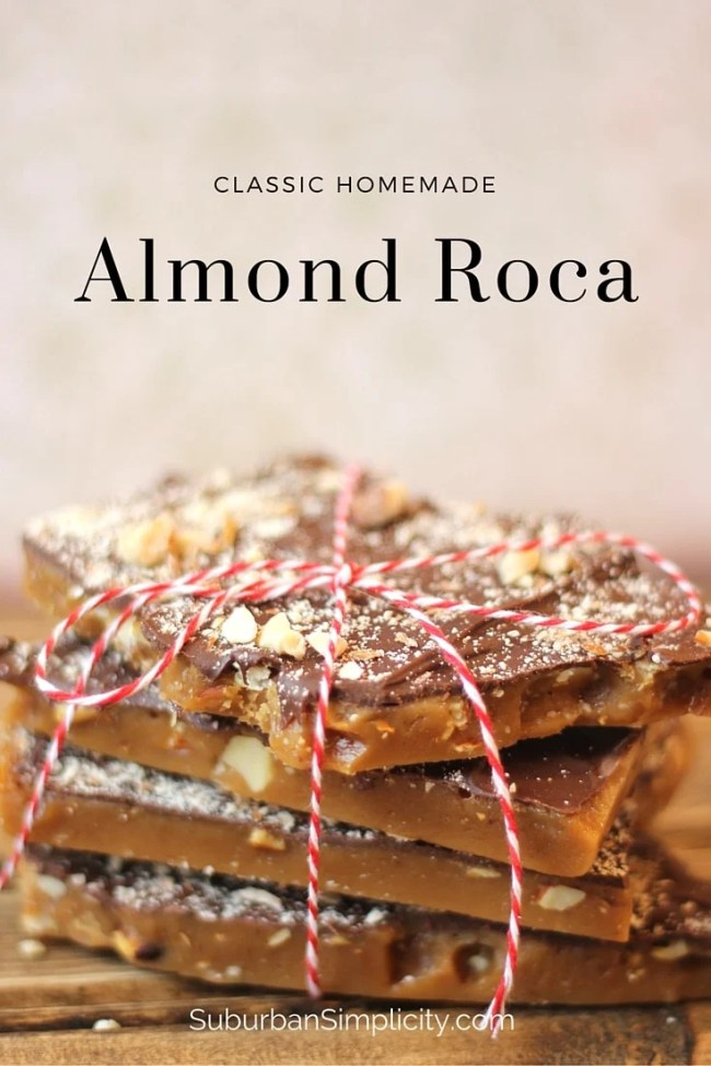 Amazing Homemade Almond Roca makes the perfect homemade treat or gift!