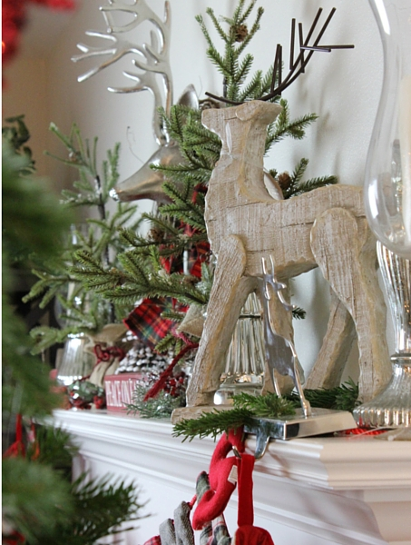 how to decorate an elegant and rustic Christmas tree
