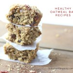 Healthy Oatmeal Bar Recipes