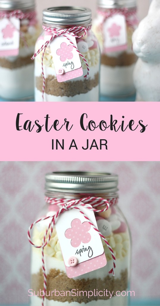 Dy easter cookies in a jar suburban simplicity easter cookies in a jar negle Choice Image