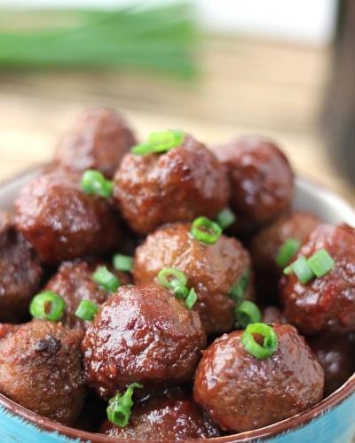 Easy Crockpot Meatball Recipe
