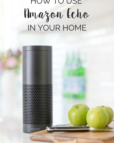 Amazon Echo is a helpful Bluetooth internet-connected wireless speaker and digital personal assistant. It makes a great gift for families. Come see how the kids use her!