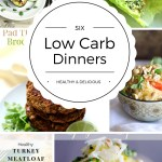 Low Carb Dinners - Healthy & Delicious