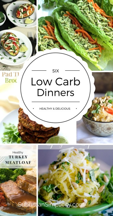 Try these healthy and delicious low carb dinner recipes. These flavorful meals will help you eat right all week long!