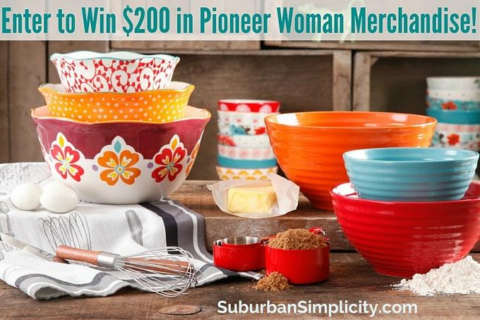 Pioneer Woman Giveaway