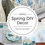 Simple Spring DIY Decor Ideas