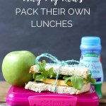 Learn Why My Kids Pack Their Own Lunches and what life skills it teaches them. Kids gain so much by giving them a little responsibility.