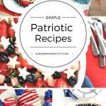 Simple Patriotic Recipes