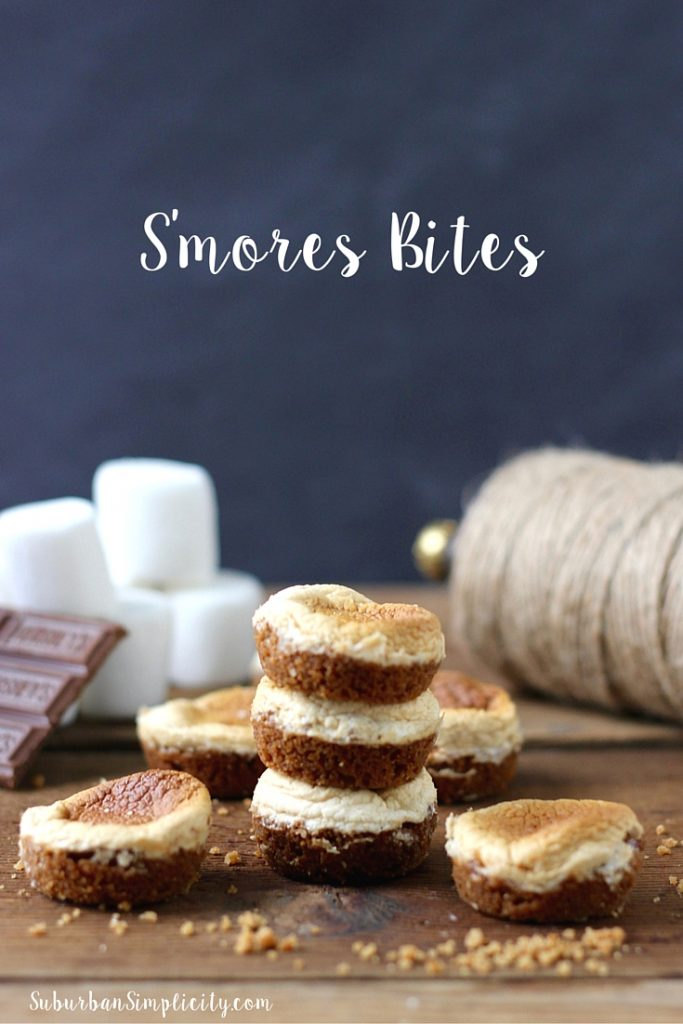 This S'mores Bites Recipe is so tasty and so easy. No campfire required!