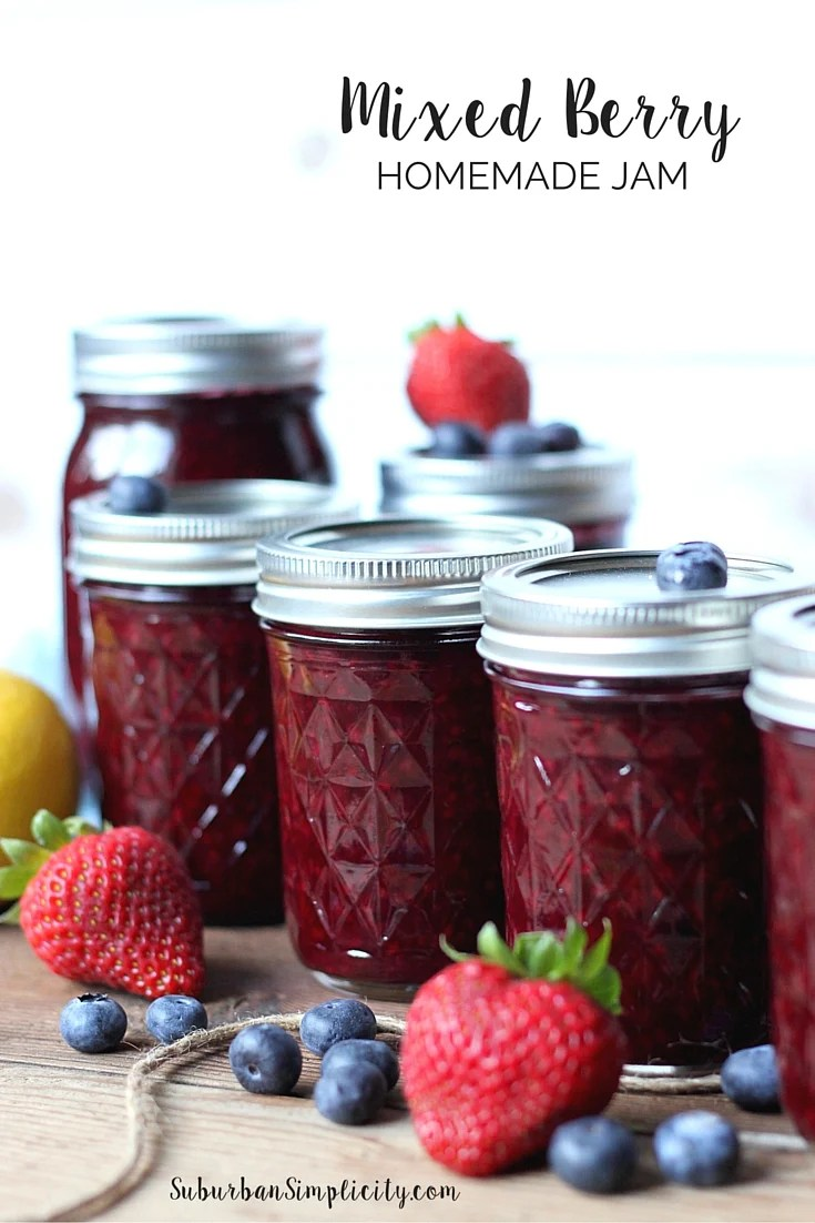 Summer Mixed Berry Jam