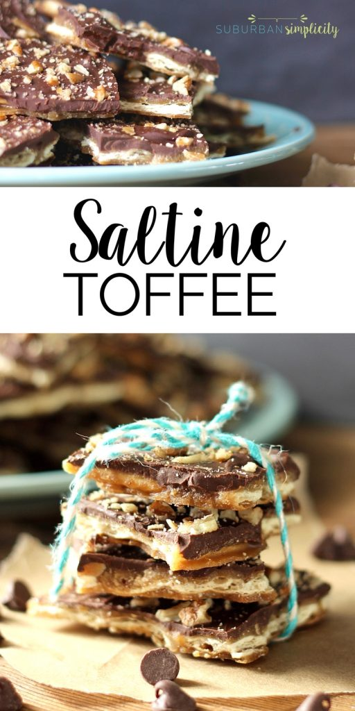 The buttery goodness of Saltine Toffee is irresistible. This candy recipe is so simple, yet so delicious. Try it and see how fast it disappears - it's kinda addictive!