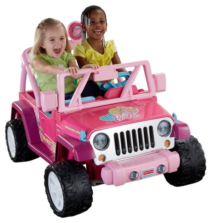 Barbie Jeep Wrangler