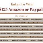 Enter to Win #125 Amazon or PayPal Cash