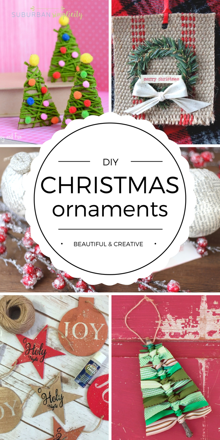DIY Christmas Ornaments | Homemade Ornament Ideas