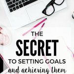 Goal Setting is an important part of life that makes dreams come true and boosts self confidence. Come learn the secret to setting goals and achieving them. It made a world of difference in making my dreams a reality!