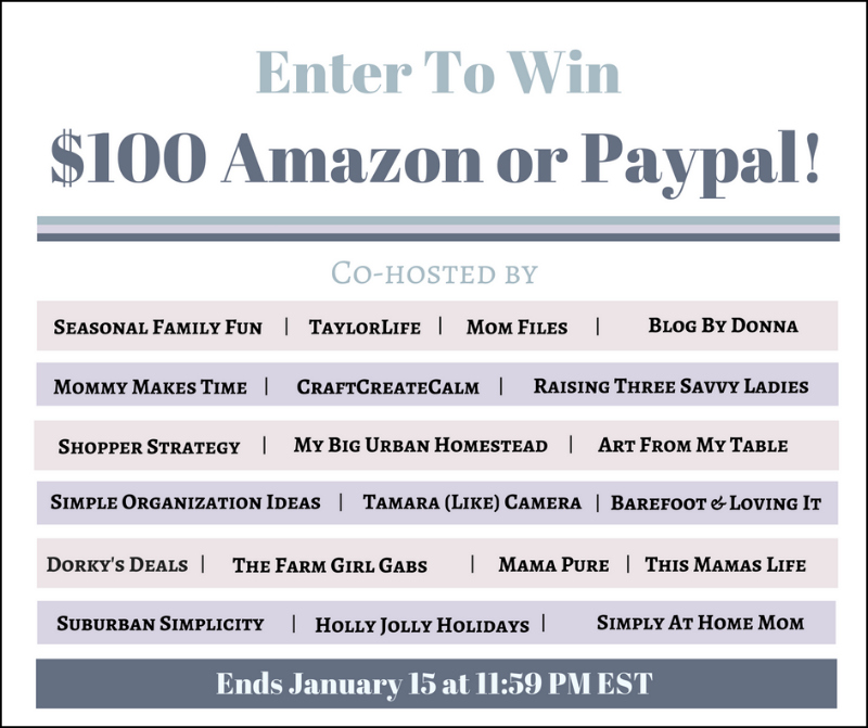 $100 New Year Amazon or PayPal Giveaway!