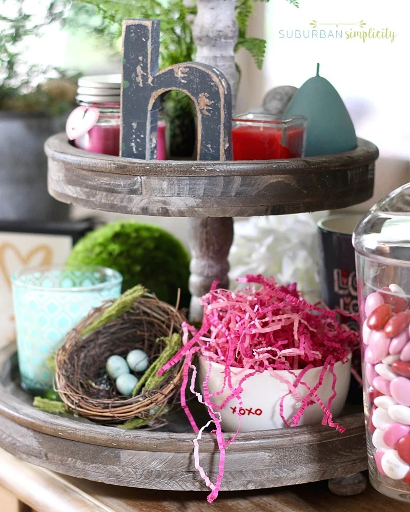 Looking for Valentine's Day Home Decorating Ideas? Sweeten up your house this Valentine's Day with these lovely decor ideas for your mantel and all throughout your home!