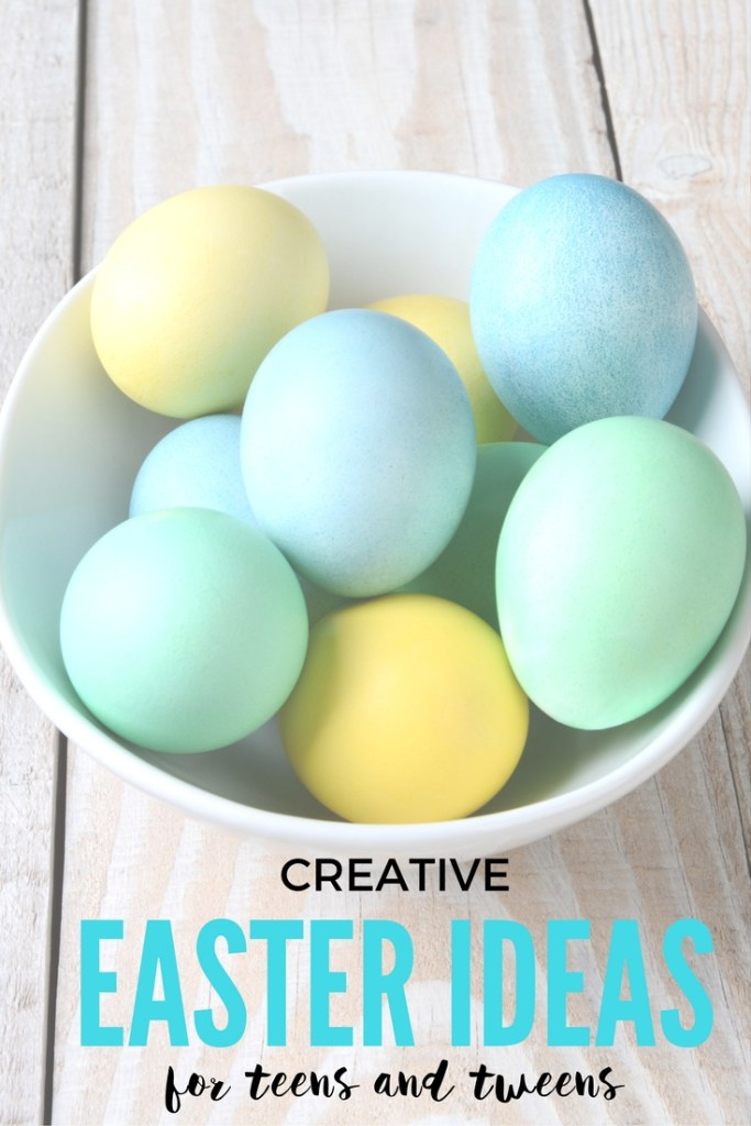 Easter ideas for teens and tweens creative easter basket ideas come check out these clever easter ideas for teens and tweens that are kid approved negle Images