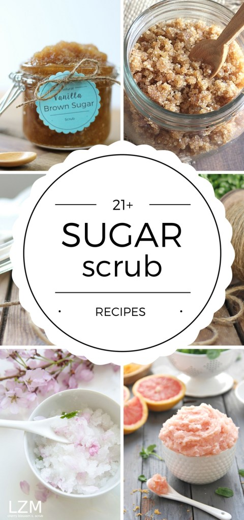 DIY Sugar Scrub Recipes are easy to make and smell amazing! They're the perfect handmade gift idea for yourself or someone else!