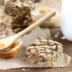 Easy Peanut Butter Oatmeal Bars are a delicious recipe idea your whole family will love! A healthy grab and go breakfast or after school snack!