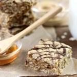 Easy Peanut Butter Oatmeal Bars