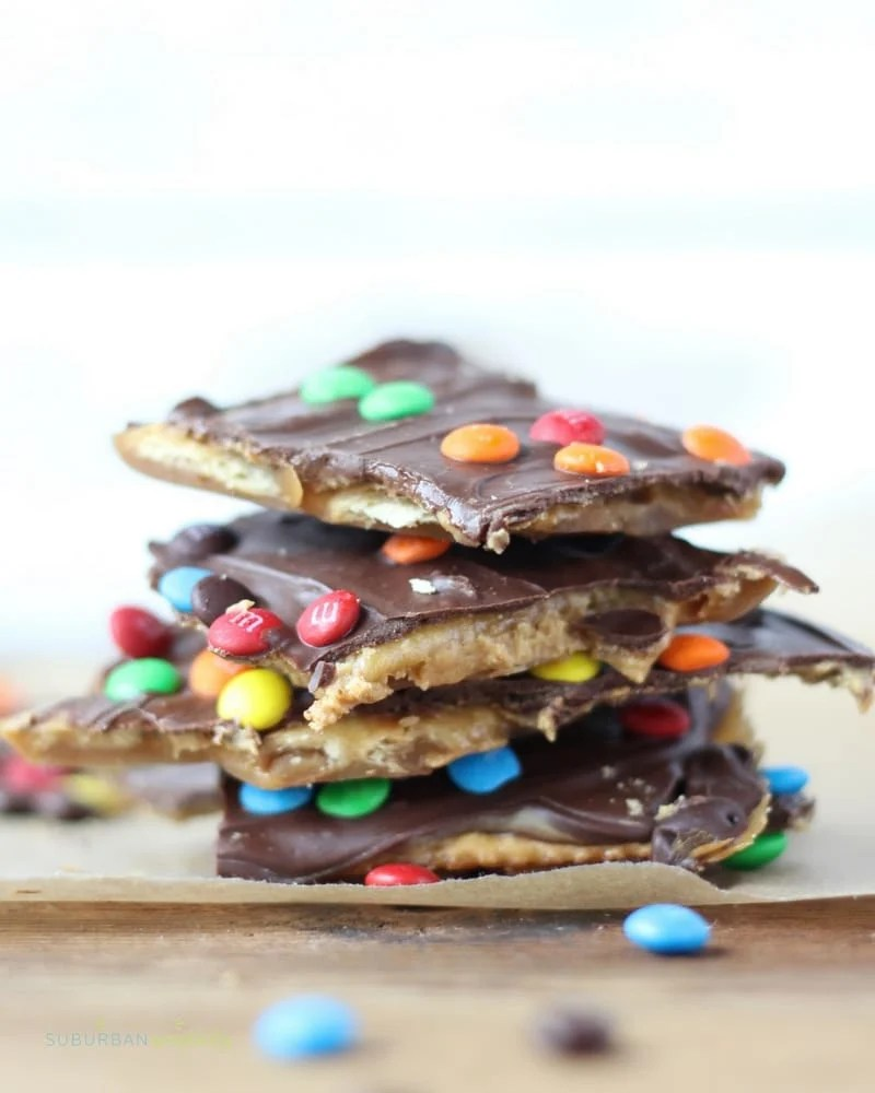 Wow! You have to try Peanut Butter Saltine Toffee! (AKA Christmas Crack) So easy and so addictive! Great for gifts or your next cookie exchange.